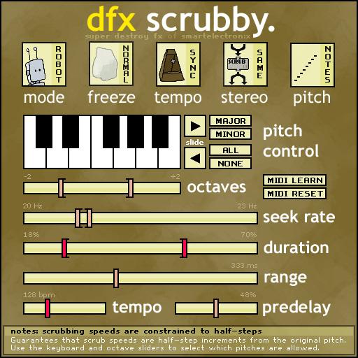 DFX Scrubby Preview