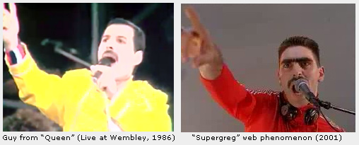 Is Supergreg the Guy from Queen?