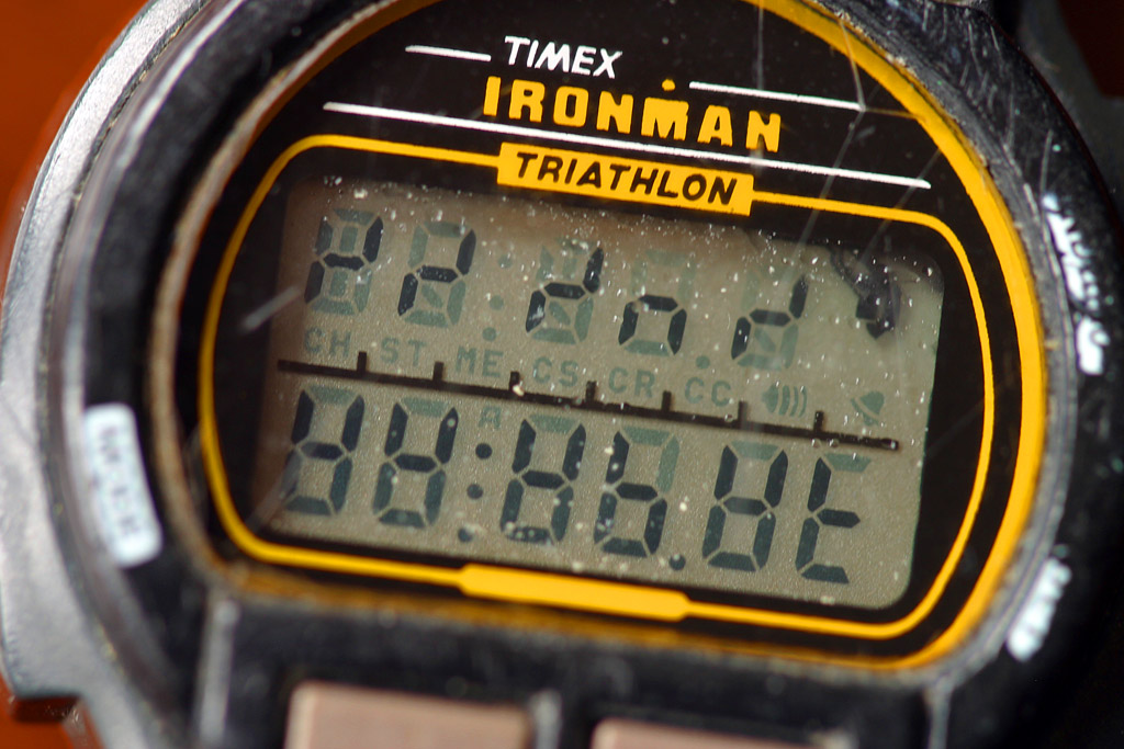 How to convert your Timex Ironman™ Triathlon™ brand digital wrist watch to space time