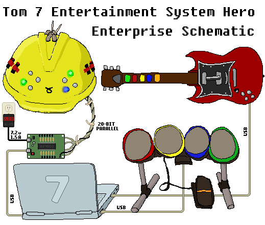Tom 7 Entertainment System Hero Enterprise Schematic