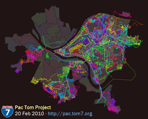 Pac Tom full map, February 2010